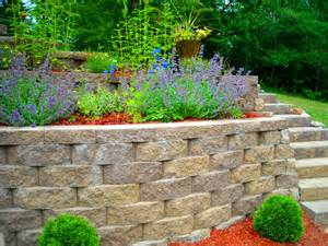 landscape retaining wall triyae landscaping retaining walls various design