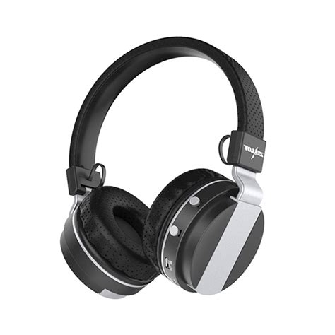 Zealot N85 Headphone With Fm Radio Tf Slot Mic zealot b17 noise cancelling foldable wireless bluetooth stereo bass headphone with tf card slot