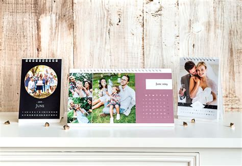 design your own desk calendar personalised desk calendars your own with photos