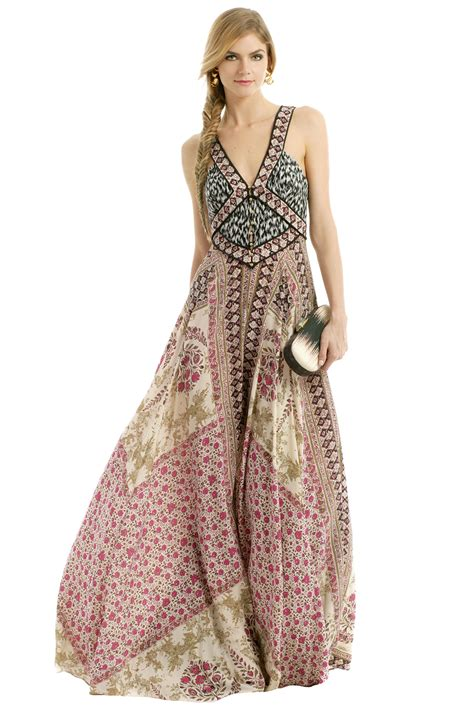 Chik Dress spices of morocco maxi by marchesa voyage for 239 rent