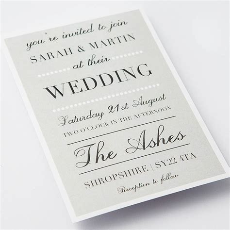 Classic Wedding Stationery by Classic Wedding Invitations Byersfroo Keep A