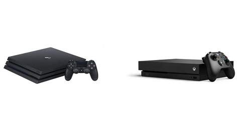 ps4 console vs xbox one ps4 pro vs xbox one x comparison review pc advisor