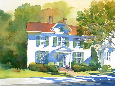 red house painters shadows david csont plein air painter some recent paintings