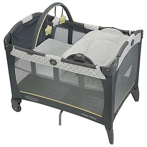 pack n play toddler bed graco 174 pack n play 174 playard with reversible napper