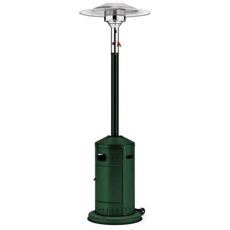 Gas Patio Heaters Uk Enders Elegance 8kw Green Eco Burner Gas Patio Heater
