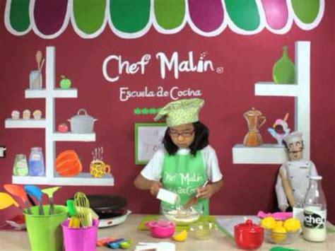 escuela de cocina minichefs receta de tortitas pancakes escuela de cocina del chef malin youtube