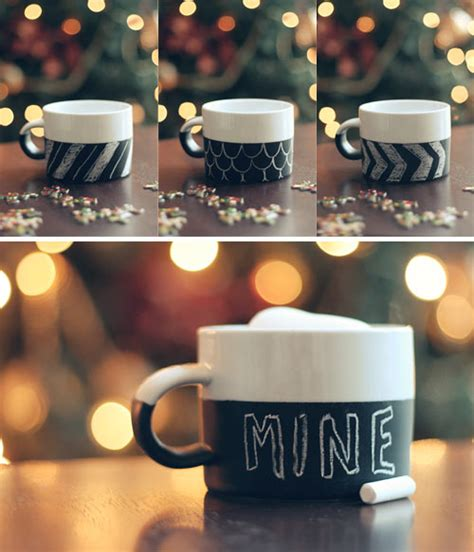 chalkboard paint mugs diy chalkboard mug wit whistle