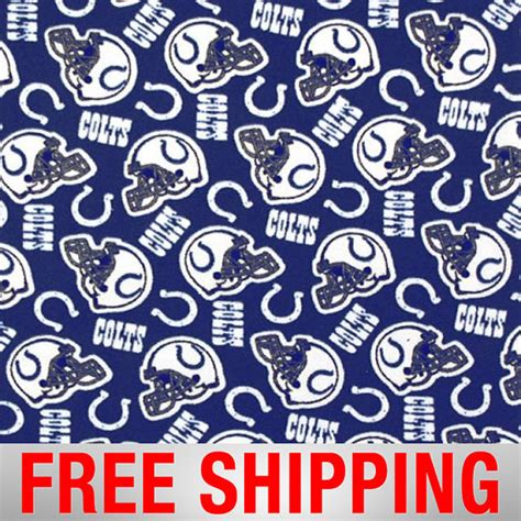 upholstery fabric indianapolis fleece fabric indianapolis colts nfl anti pill 60 quot wide