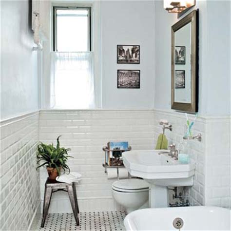Old House Bathroom Ideas return to the jazz age bath gets a classic redo 1920s