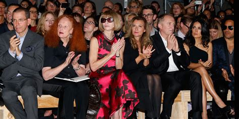 Guess Who Eats The Least During Fashion Week by Laurent S Front Row Brought Lenny Kravitz S