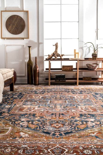 edessa tribal medallion fringe rug 426 best area rugs images on area rugs