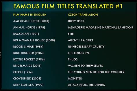film names famous movie titles translated vashivisuals
