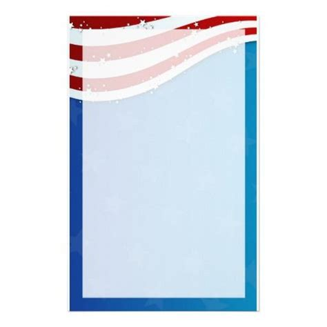 printable flag stationery 8 best images about borders on pinterest invitations