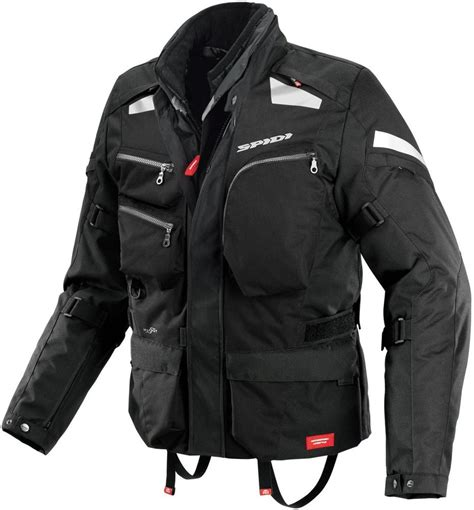 cheap motorcycle jackets with armor 326 16 spidi sport mens voyager 3 h2out armored textile