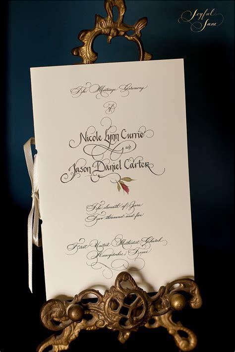 Custom Calligraphy   Joyful Jane