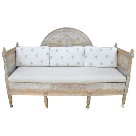 swedish bed swedish gustavian daybed at 1stdibs