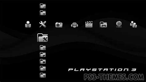 themes black ps3 ps3 themes 187 ps3 black theme