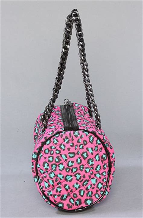 Betsey Johnson Time by Betsey Johnson The Betseyville Cheetah Time Barrel Bag In