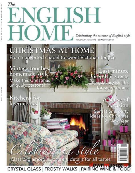 design magazine english the english home magazine january 2013 187 download pdf