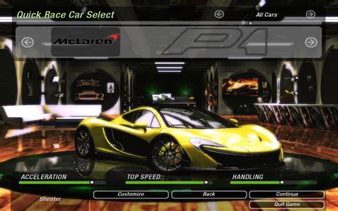 mod game nfs underground 2 need for speed underground 2 cars by mclaren nfscars