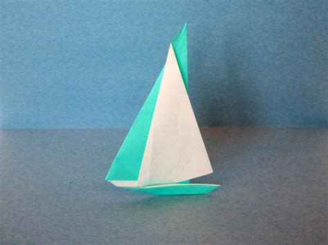 Origami Catamaran - origami no 1 cuh yah crafts