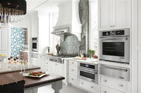 jenn air kitchen appliances white eclectic kitchen featuring jenn air appliances