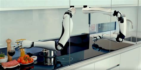 Robot Kitchen by Moley Kitchen Is A Robotic Chef That Preps Cooks And