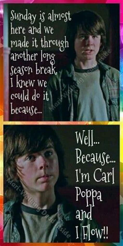 Carl Grimes Memes - the walking dead memes carl grimes carl poppa