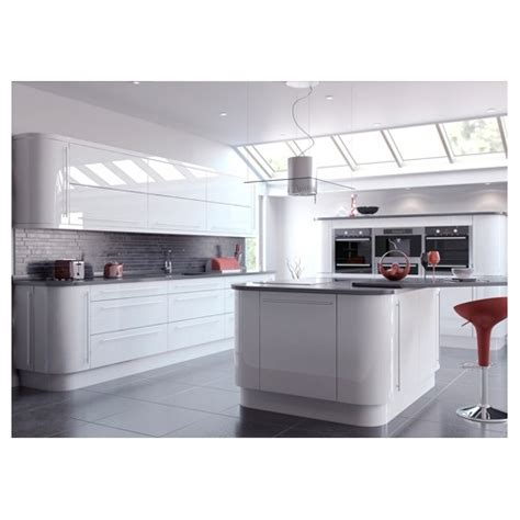 White Gloss Kitchen Door Fronts Buy Vivo High Gloss Kitchen Cupboard Door Drawer Fronts