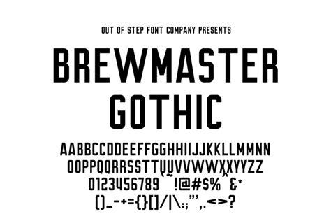 dafont punk brewmaster gothic font dafont com