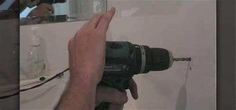 how to drill through bathroom tiles how to drill a in a ceramic tile nifty trick
