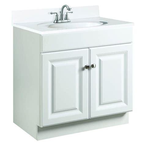 design house white vanity design house wyndham 30 in w x 21 in d unassembled