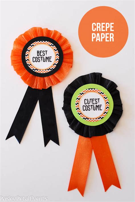 printable paper medals image gallery halloween award ribbon