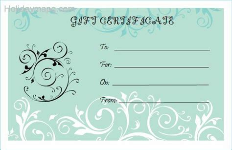 bridal shower gift card template gift certificate template holidaymapq