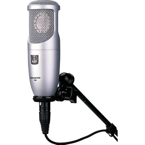 condenser microphone how akg perception 100 large diaphragm condenser microphone musician s friend