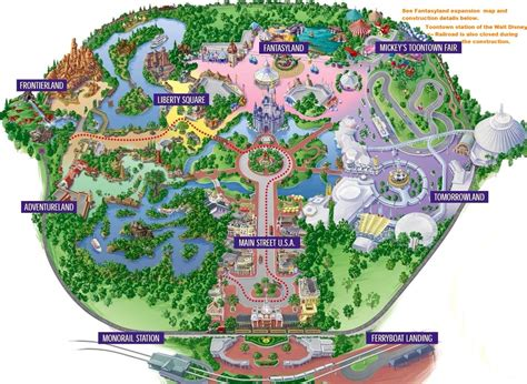 disney world magic kingdom map magic kingdom map www mickeytravels magic kingdom