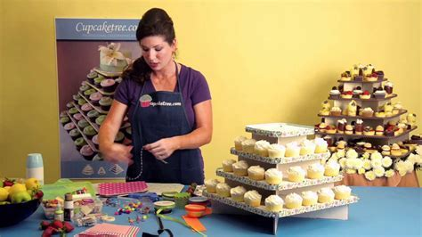 How to decorate your Cupcaketree cupcake stand for your