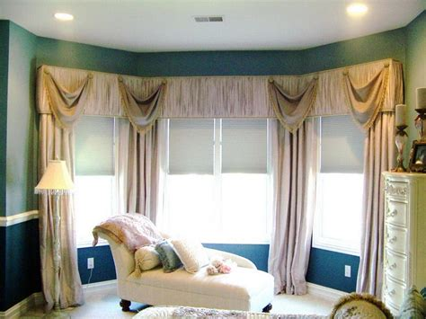 Bow Window Coverings doors amp windows bay window treatment ideas with various