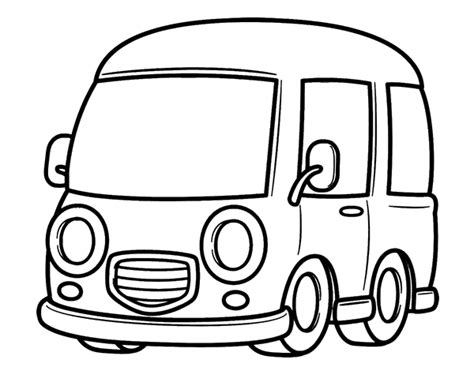 printable images of van free coloring pages of taxi van