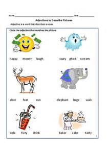 Adjectives for grade 1 and 2 teacherlingo com