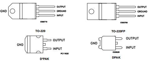 transistor l7805 transistor l7805 datasheet 28 images l7805cv datasheet 5v 1 5a voltage regulator st