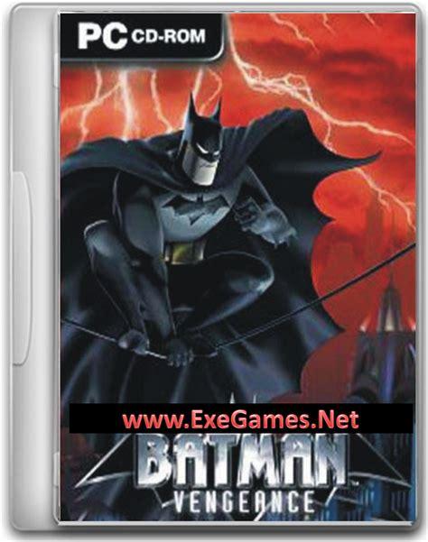 batman games full version free download batman vengeance free download pc game full version free