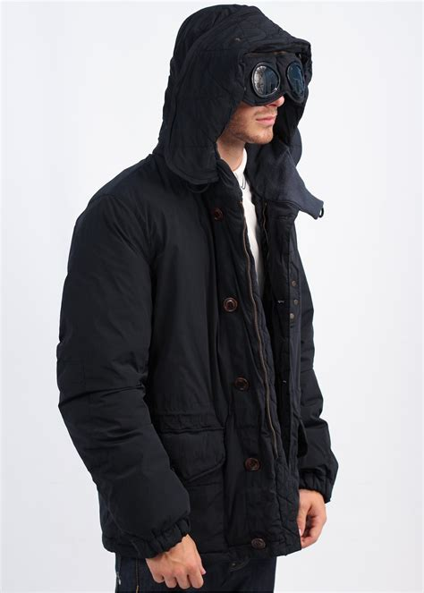 Cp Jaket cp company button coat navy