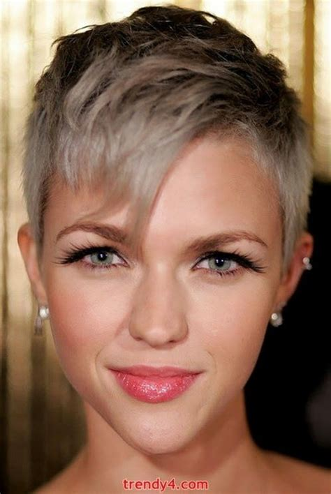 super short haircuts for women with gray hair super short hairstyles 2014