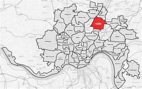 Zip Code Map Cincinnati   bond hill cincinnati wikipedia