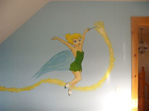 tinkerbell wall murals tinkerbell wall mural 1 by cheal on deviantart