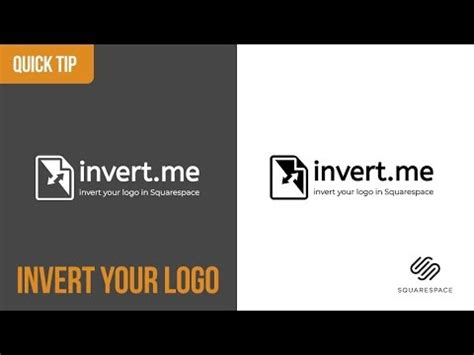 How To Change Logo Color On A Single Page Brine Template Squarespace Youtube Squarespace Change Template