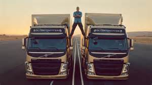 Volvo Trucks The Epic Split Feat Damme Jean Claude Damme Performs Epic Split Between