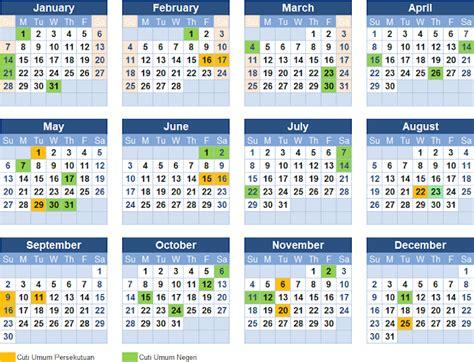 kalendar 2018 malaysia 28 images malaysia holidays