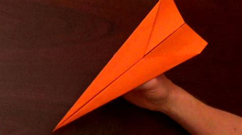 The Paper Airplane - fastest flying paper airplane tutorial the dart the